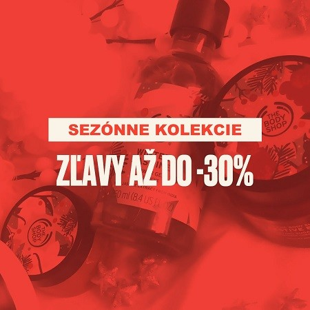 Sezónne kolekcie do -30%