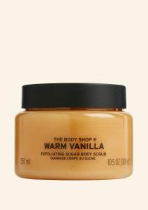 Warm Vanilla telový peeling 250ml