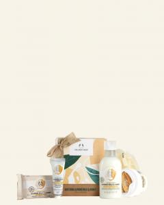 Malá darčeková krabička: Výživné Mandľové mlieko & Med