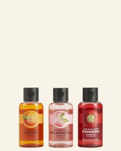 Šťavnaté & Citrusové trio sprchových gélov
