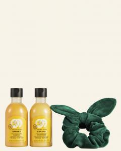 Banánové duo starostlivosti o vlasy