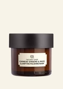 Revitalizačná maska na pleť s čínskym ženšenom a ryžou