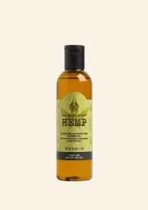 Sprchový olej s olejom z konopného semienka