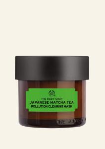 Maska na tvár s japonským čajom matcha