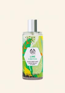 Vlasový a telový sprej - Limetka & Matcha