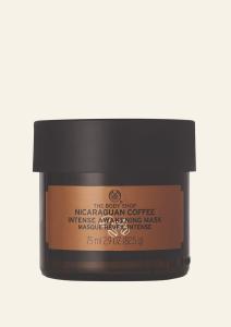 Energizujúca maska s Nicaraguiskou kávou