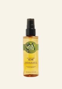 Telový vyživujúci suchý olej - Oliva