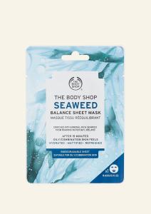 Zmatňujúca textilná maska s morskou riasou