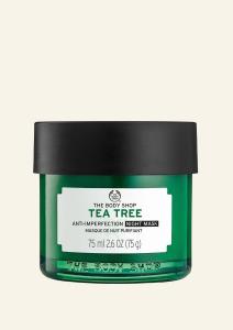 Nočná maska s olejom z čajovníka