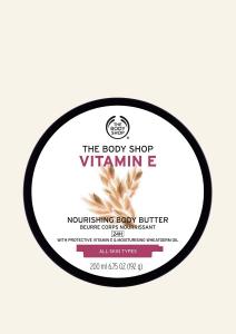 Telové maslo s vitamínom E