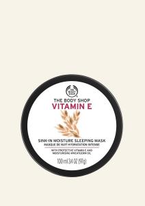 Nočná maska s vitamínom E